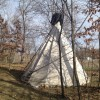 Crazy Rooster Teepee