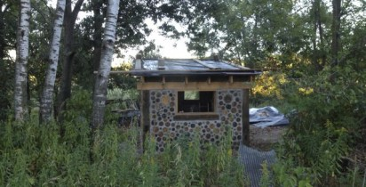 Timber framing and Cordwood Masonry workshop is back!
