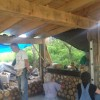 Cordwood course is complete. Building is not.